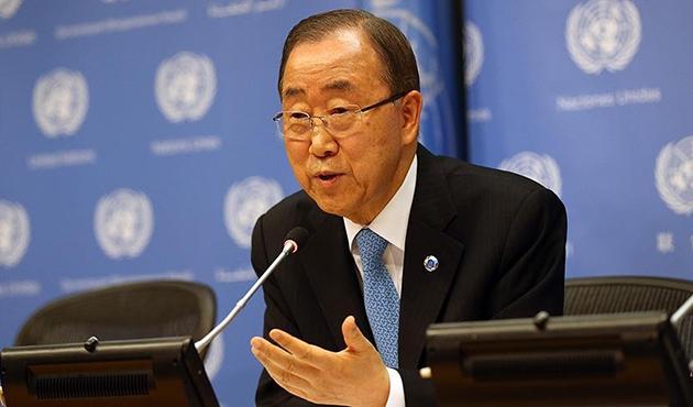 Ban Ki-mun: Suriye'de üç alanda bölünmüşlük var