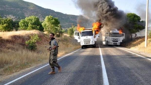 Van'da yol kesen PKK'lılar minibüs şoförünü katletti