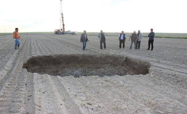 Konya'da 3 yeni obruk oluştu
