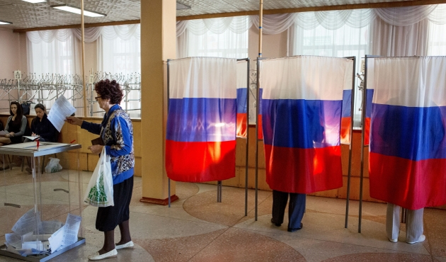 Ruslar yine 'Putin' dedi