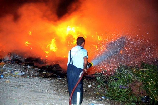 Filistin'den İsrail'e yangın söndürme desteği