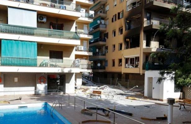 Barselona'da apartmanda patlama: 1 ölü, 14 yaralı