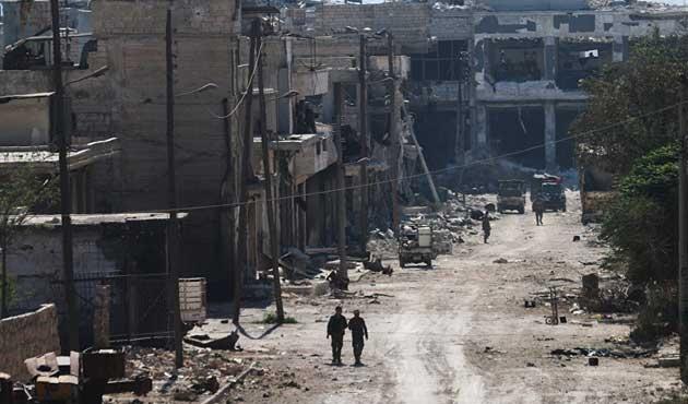 Esad'ı Deyr ez Zor'da dört ülke birden vurmuş