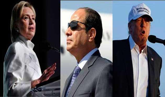 Yeni ABD'den darbeci Sisi'ye özel ilgi