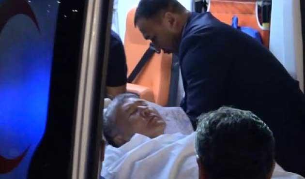 Kırgızistan lideri Türkiye'de hastaneye kaldırıldı
