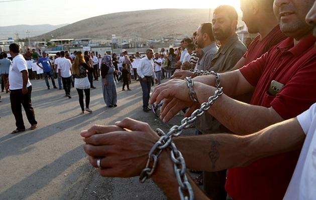PYD'ye karşı açlık grevi 10'uncu gününde