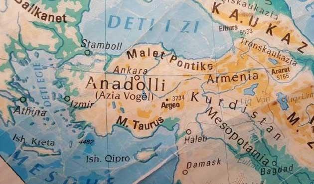 Kosova'ya gönderilen Türkiye haritası gerginliği