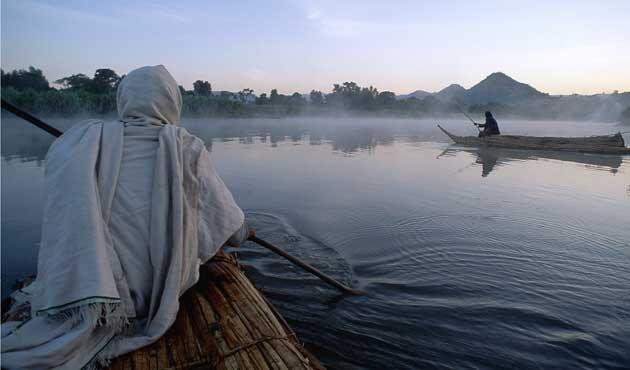 Nil nehri paylaşılıyor