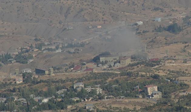 PKK Derecik'te askeri üs bölgelerine saldırdı