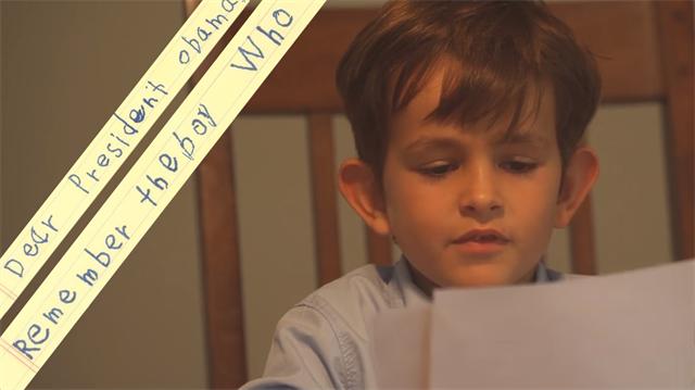 Amerikalı çocuktan Obama'ya mektup: Ümran'ı bize getirir misin?