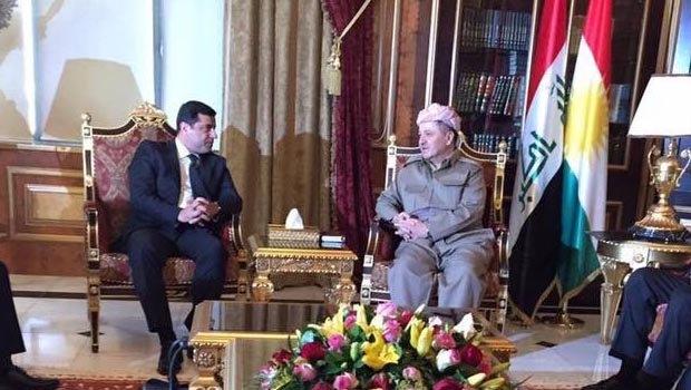 Demirtaş, Barzani'den 'süreç' için yardım istedi