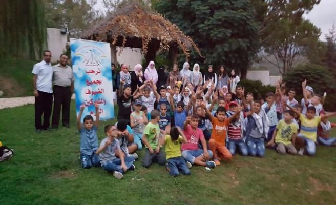 Lübnan Burc El Baracna mülteci kampında yeşeren umutlar