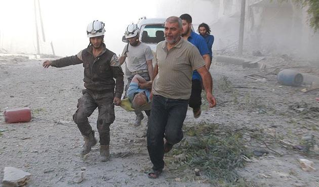Esad rejimi Halep'te sivilleri vurdu; 11 ölü