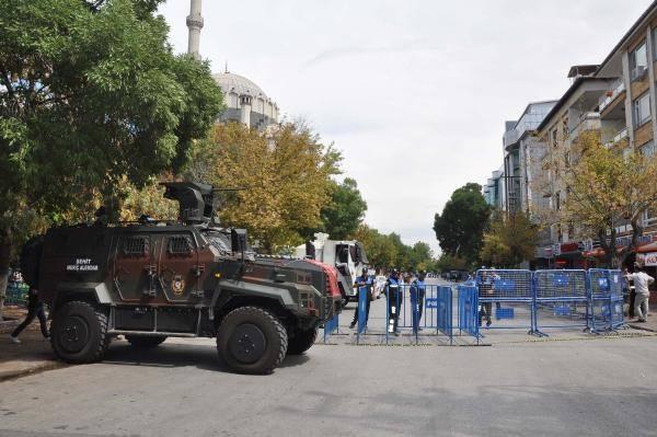 Gaziantep'te olağanüstü güvenlik önlemleri