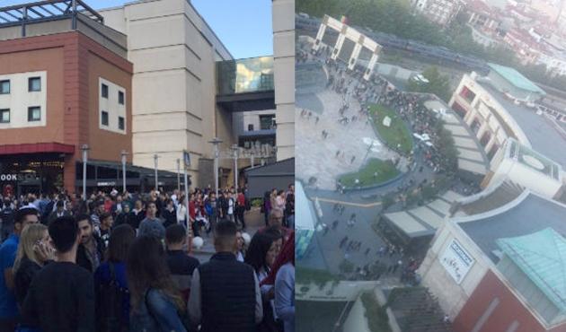 Forum İstanbul'da yanlış alarm paniği