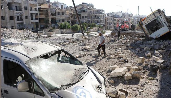 Suriye ve Rus ordusu Halep'te sivilleri vurdu: 15 ölü
