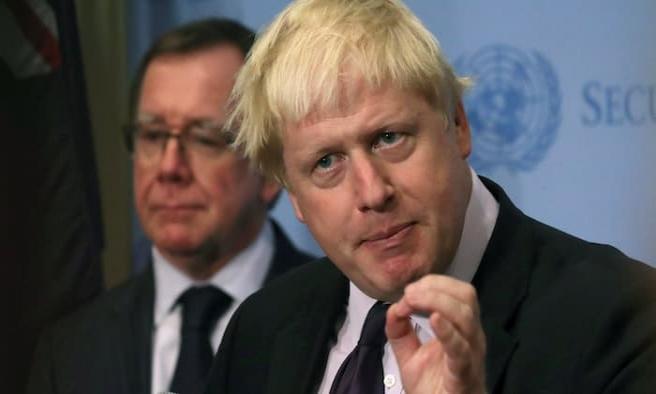 Johnson'dan Esad ve Rusya açıklaması