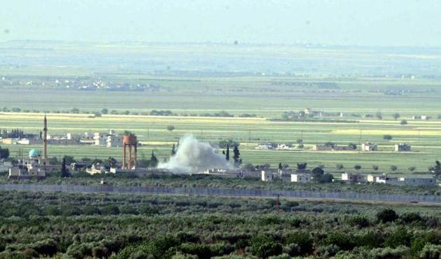 Kilis'e üç roket mermisi atıldı