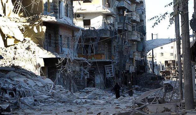 'Halep'te bombalamalar acilen durdurulmalı'