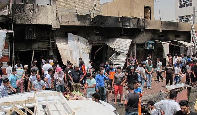 Bağdat'ta yine canlı bomba saldırısı