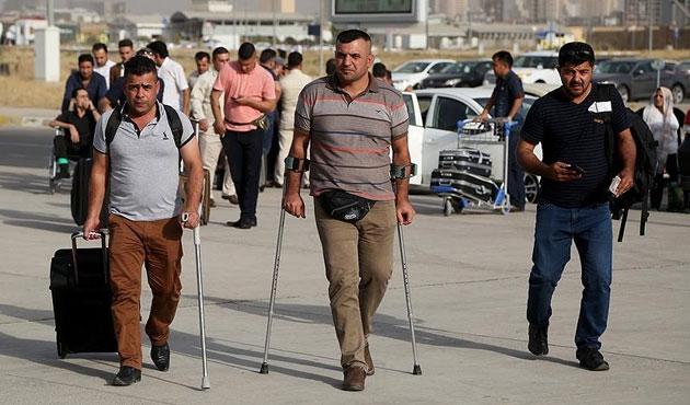 60 Peşmerge Türkiye'de tedavi ediliyor