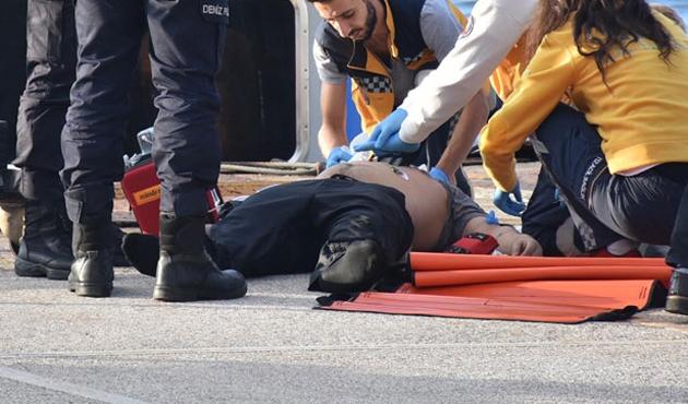 İstanbul trafiğini kilitleyen intihar girişimi