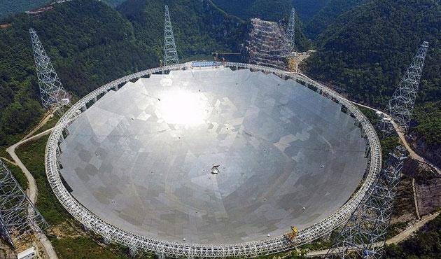 Dünyanın en büyük radyo teleskobu faaliyette