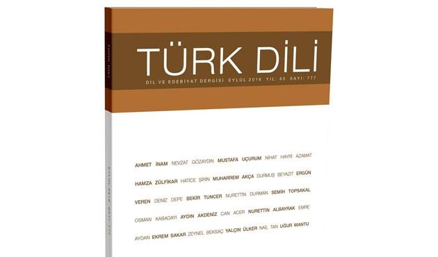 Türk Dili'nin suskunluğu