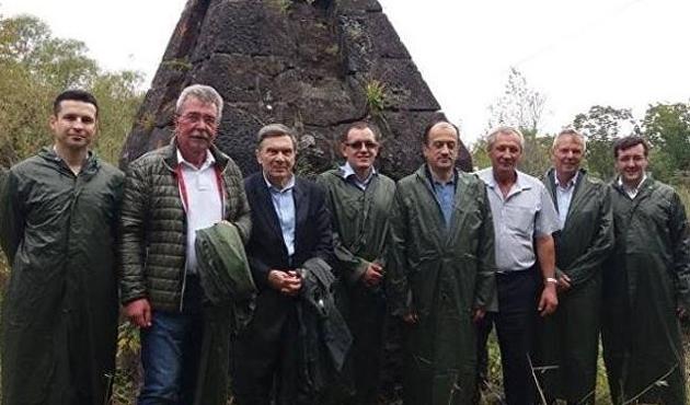 Rusya'da Türk şehitleri anıldı