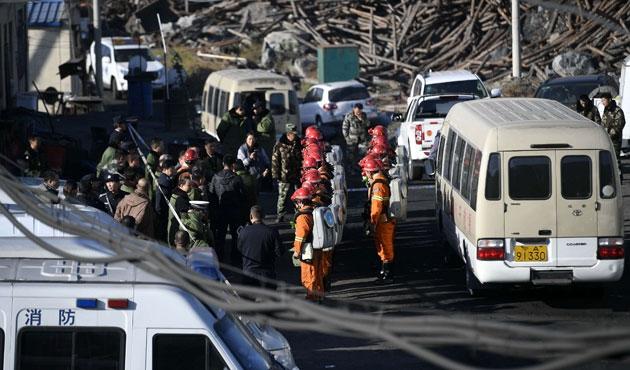 Çin'de yine grizu patladı