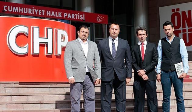 FETÖ mağduru eski askeri öğrencilerin CHP ziyareti