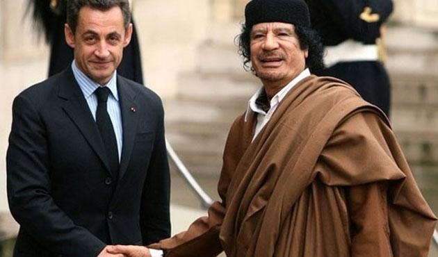 Kaddafi'nin Sarkozy'e desteği ile ilgili yeni belgeler
