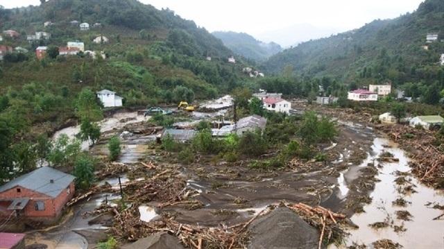 Giresun'daki hasar en az 50 milyon lira