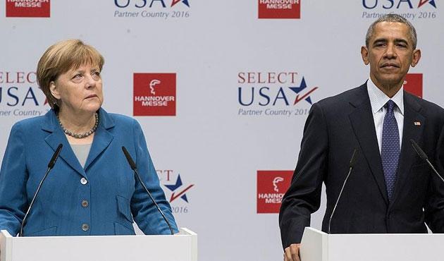 Obama ve Merkel Halep saldırılarını kınadı