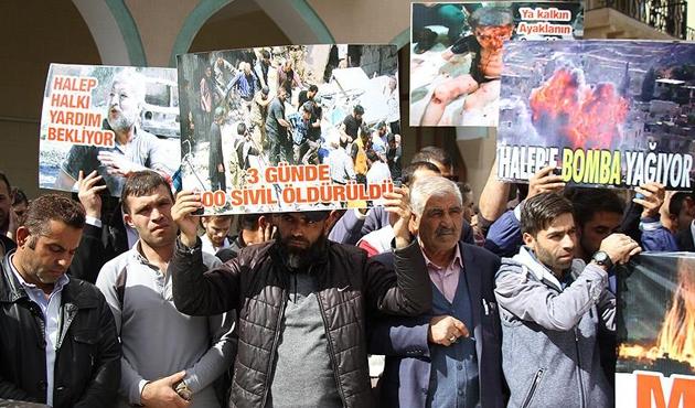 Halep'te bir haftada ölen sivillerin sayısı bini buldu