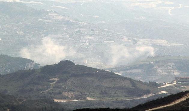 Esad güçleri İdlib ve Lazkiye kırsalını vurdu