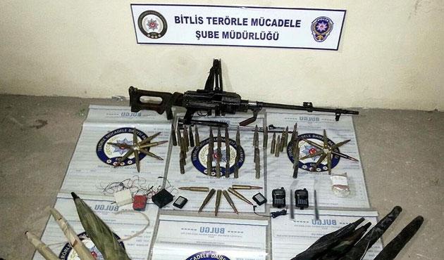 PKK'ya götürülen mühimmat ele geçirildi