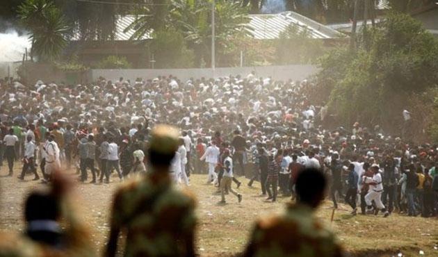 Etiyopya'da göstericilere ateş açıldı; ölüler var