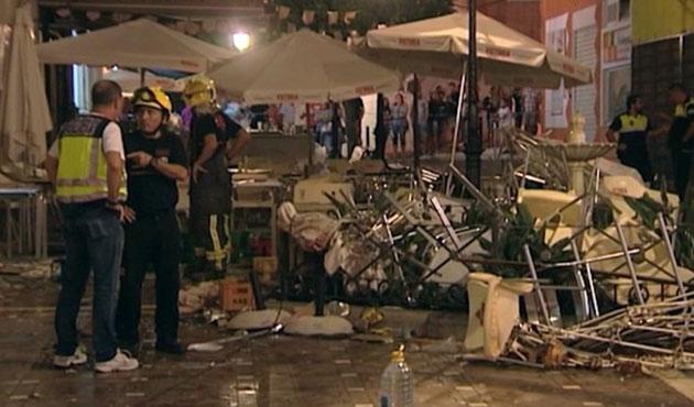 İspanya'da restoranda paylama; 90 yaralı