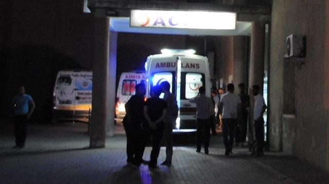 Elazığ'da koruculara silahlı saldırı