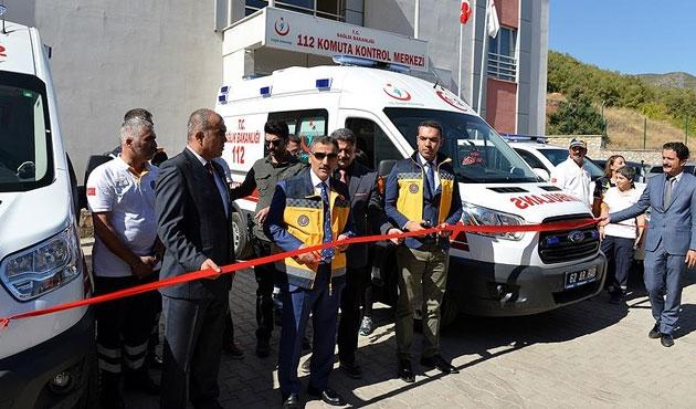 Tunceli'ye zırhlı ambulans