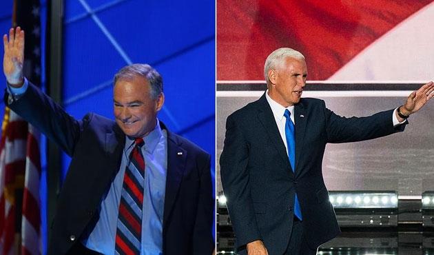ABD'de bu sefer başkan yardımcısı adayları kapıştı