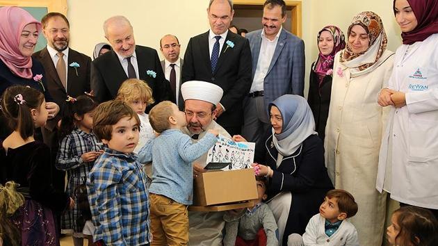 Diyanet'in 'Reyyan Anaokulu' açıldı