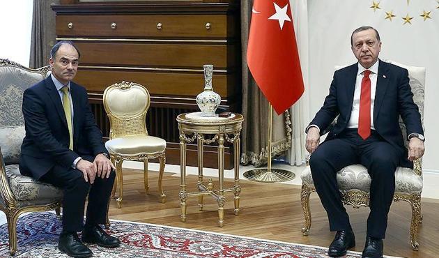 Erdoğan, Rolls-Royce CEO'sunu kabul etti