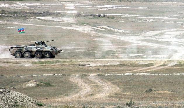 Azerbaycan Ermeni sınırında çatışma