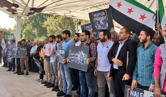 İstanbul'da Halep kurbanları için gıyabi cenaze namazı
