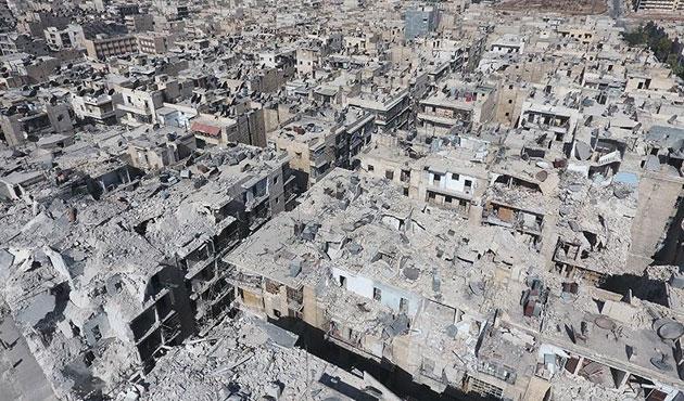 Halep artık bir harabe | FOTO
