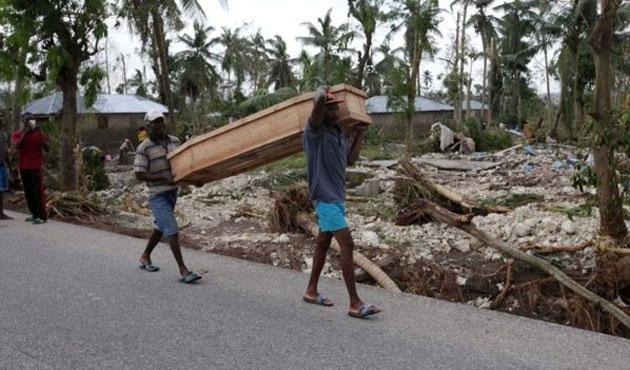 Haiti felaketi yaşıyor: Kasırgada ölü sayısı 842