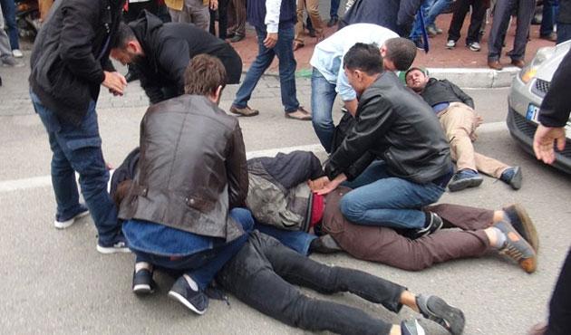 Bursa'da 10 Ekim gösterisinde 29 gözaltı