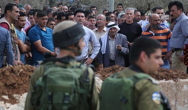 Batı Şeria'daki 'Yusuf makamında' gerginlik